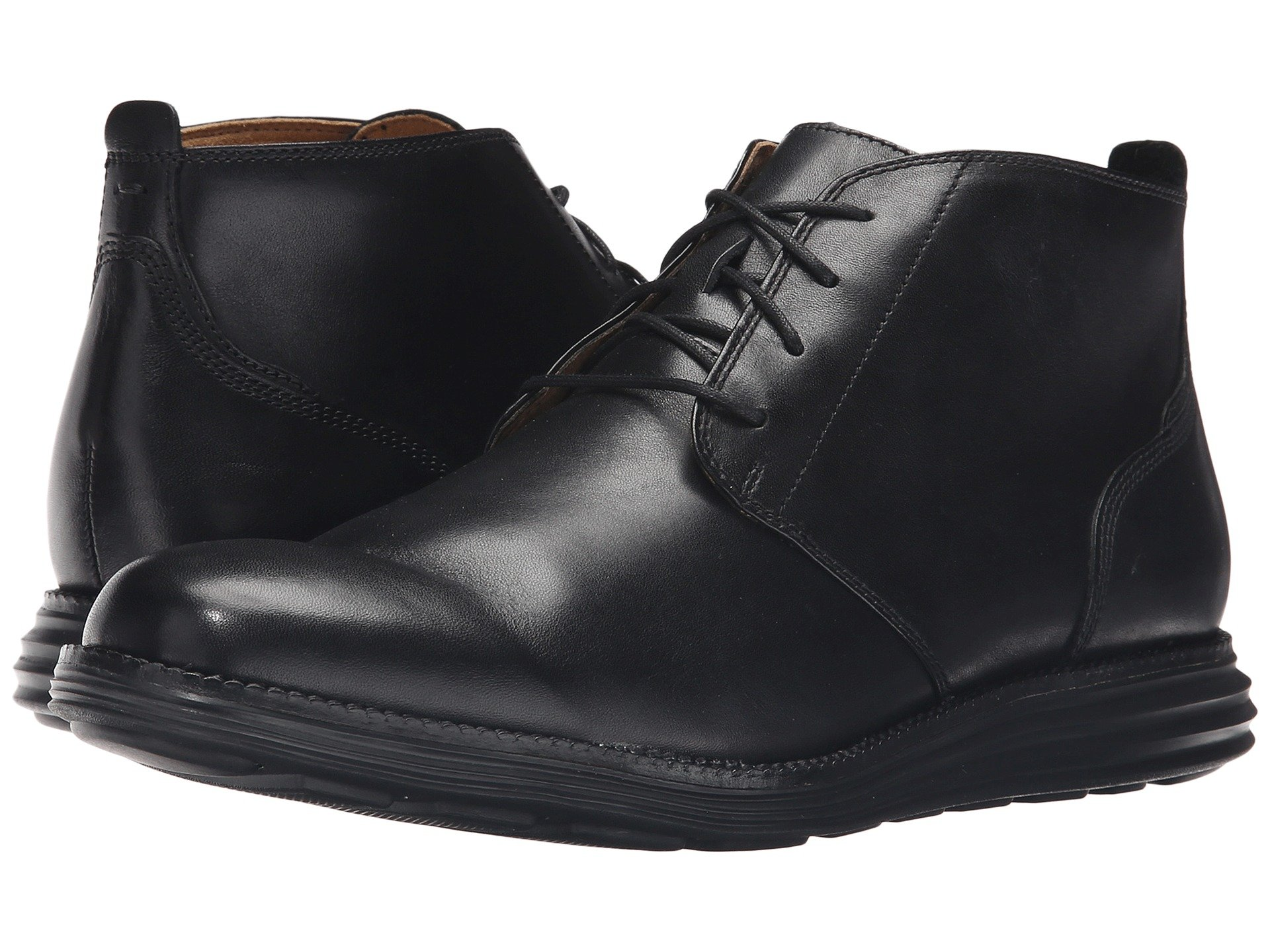 Cole haan lunargrand chukka black and white dresses