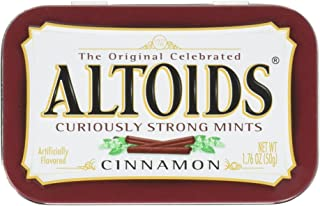 Altoids Curiously Strong Mints, Cinnamon, 1.76oz Per Tin, 6 Tin Pack