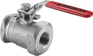 "Keckley Company BVSCTHFCSRGSL-038 BVSC Ball Valves, Class 900 Threaded Cast Carbon Steel Full Port, 0.375"" ID"