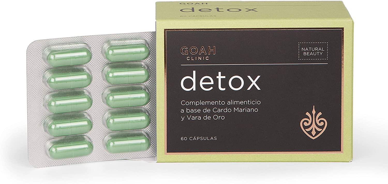 Detox – Goah Clinic, Cosmética en cápsulas, Nutricosmética para detoxificar tu organismo