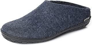 Glerups Men's Model BR Open Back Slippers Denim 45 Medium EU Blue