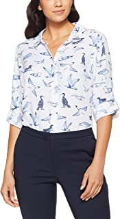 French Connection Women's Birds of The SEA Shirt