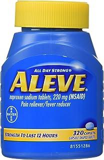 Aleve Caplets Pain Reliever Fever Reducer, 320 Caplets