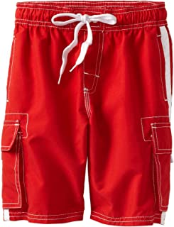 Kanu Surf Boys' Barracuda Quick Dry Beach Swim Trunk