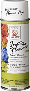 Design Master Just for Flowers Spray Dye, 11oz, Green, 4 Piece