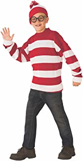 Rubie's Deluxe Child's Where's Waldo Costume, Large