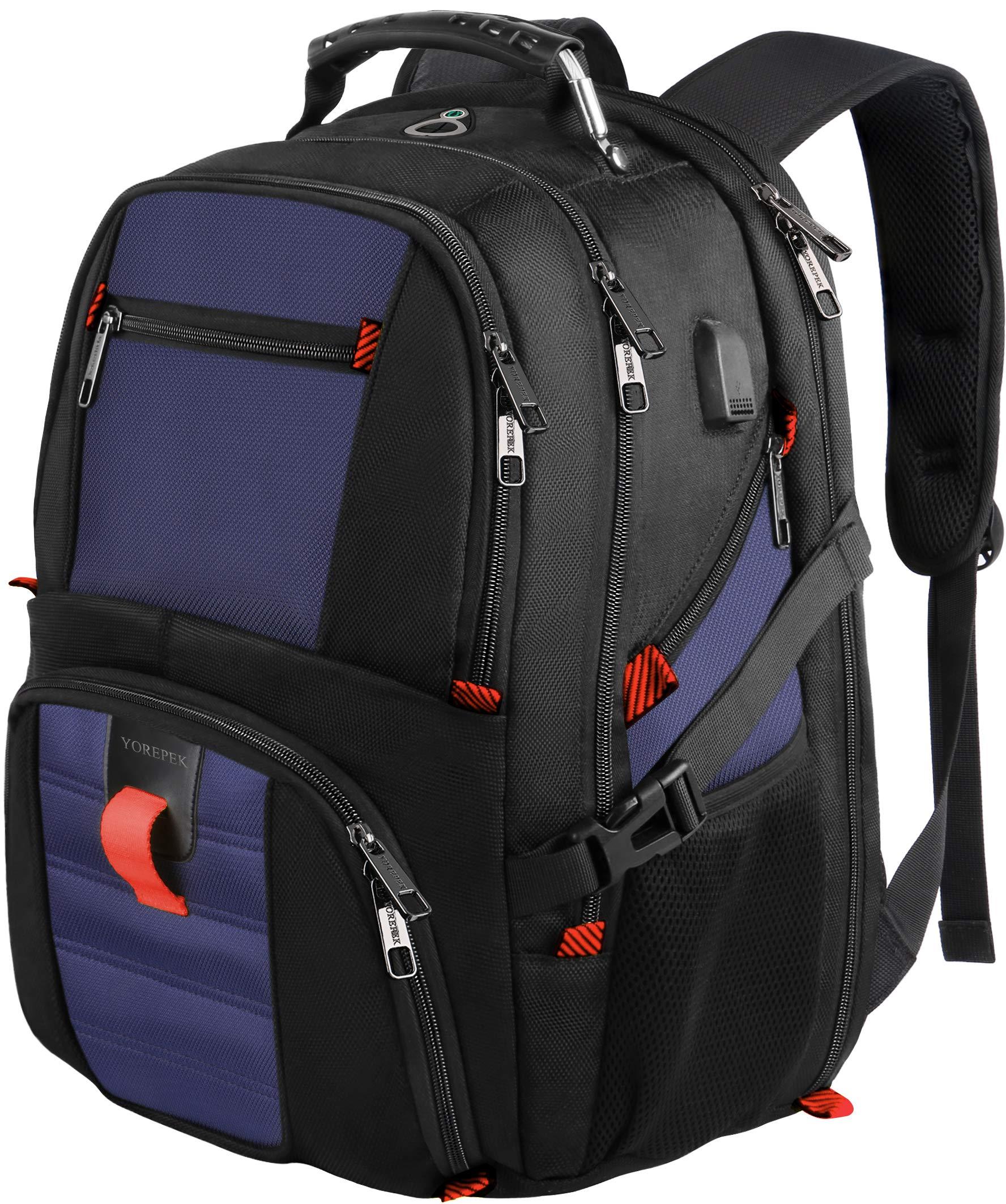 Backpack Charging Backpacks Resistant Laptops Roy