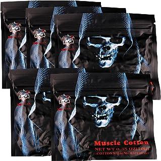 Demon Killer RBAアトマイザのための有機電子タバコマッスルコットンベーパーウィック(5袋)