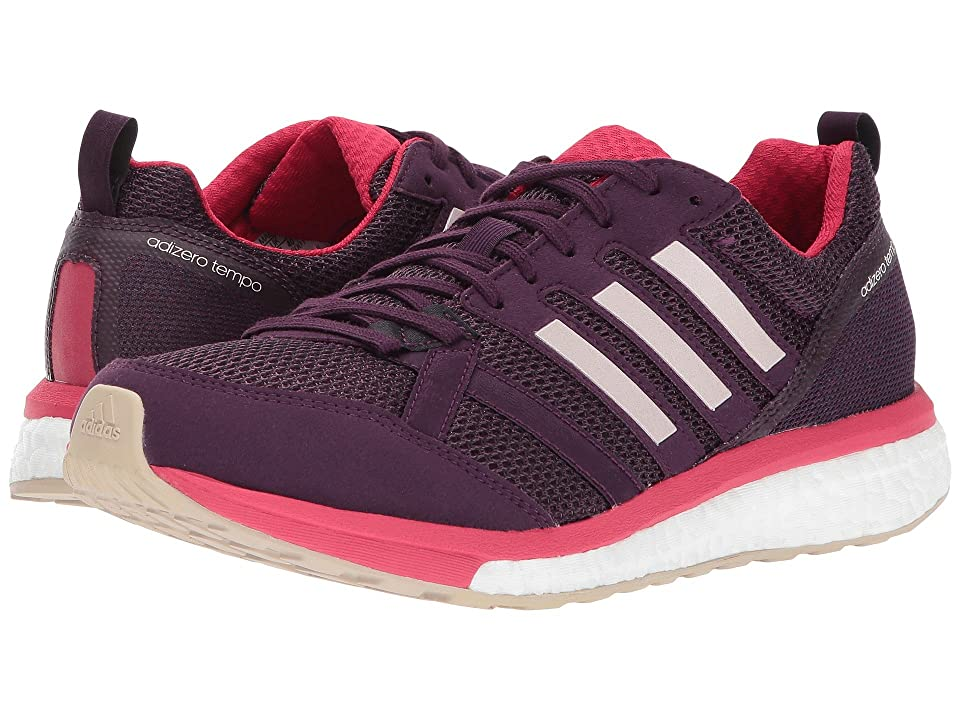 adidas Adizero Tempo 9 (Red Night/Icey Pink/Energy Pink) Women