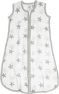 aden by aden + Anais Classic Sleeping Bag, 100% Cotton Muslin, Wearable Baby Blanket, Dusty - Stars