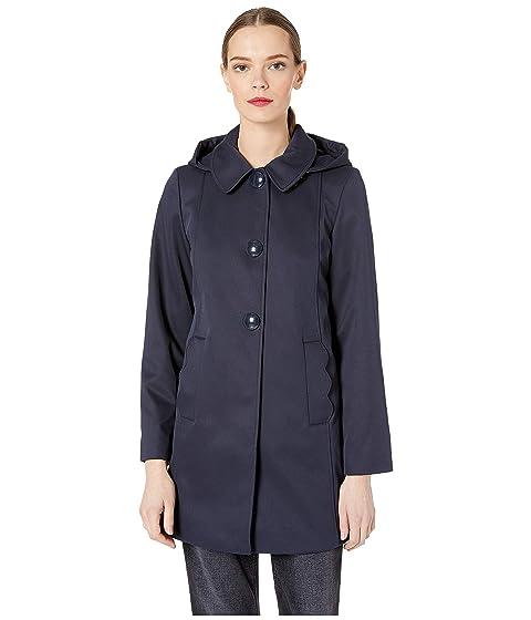 Kate Spade New York Single Breasted Hood Jacket