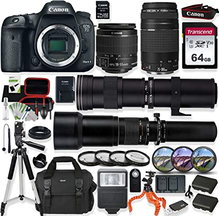 Amazon com: canon eos 7d mark ii - Cardinal Camera and Video