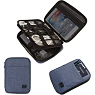BAGSMART Double-Layer Travel Cable Organizer Electronics Accessories Cases for Cables, iPhone,...