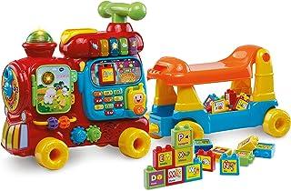 VTech Baby 5-in-1 Maxi trein Elektronische Educatieve Speelgoedset, Multicolor Spaanse Versie One Size veelkleurig