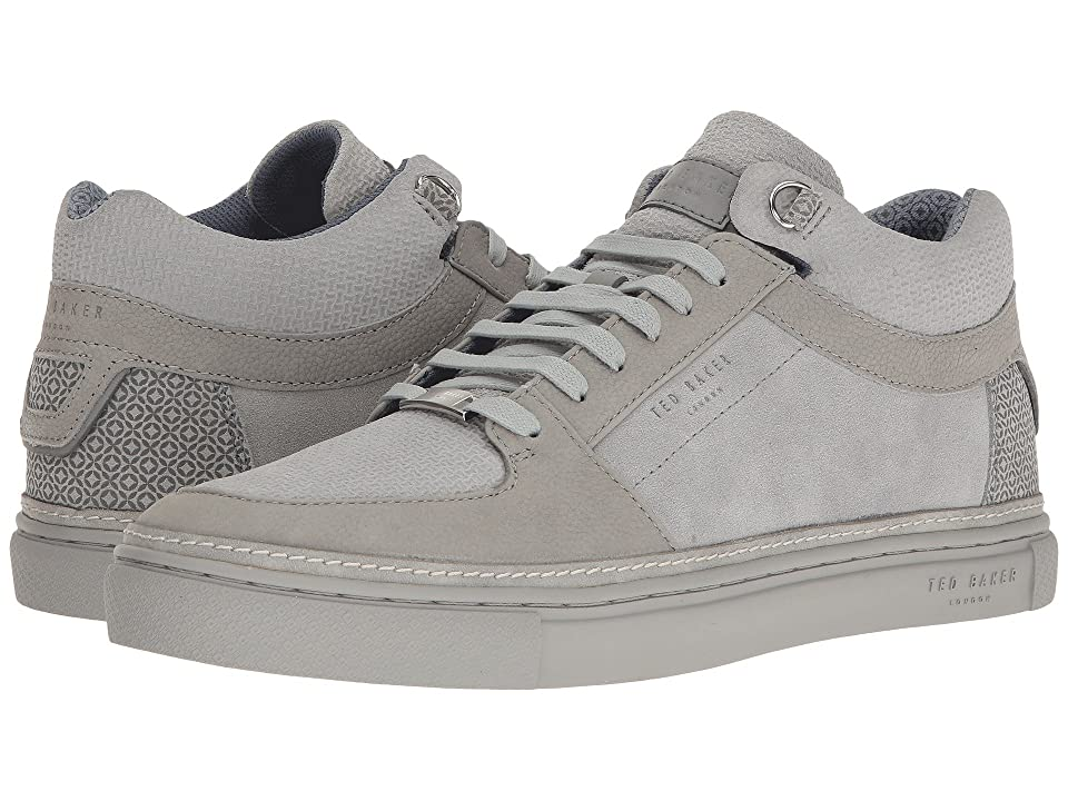 Ted Baker Komett (Light Grey Suede) Men