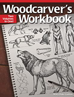 Woodcarver's Workbook: Two Volumes in One! (Fox Chapel Publishing)