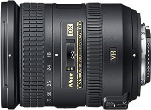 Nikon Obiettivo Nikkor AF-S DX 18-200 mm f/3.5-5.6G ED VR II, Nero [Nital Card: 4 Anni di Garanzia]