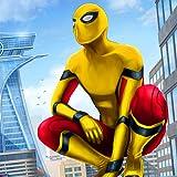 Superhéroe Flying Spider Revenge Fighting Simulator 3D: Veg