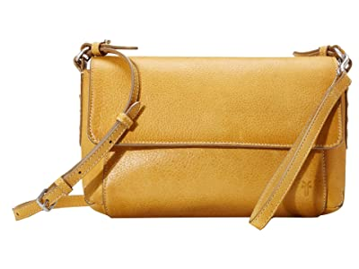 Frye Reed Flap Crossbody (Sunflower) Handbags