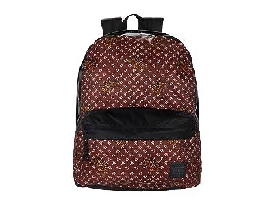 Vans Deana III Backpack (Tiger Floral) Backpack Bags