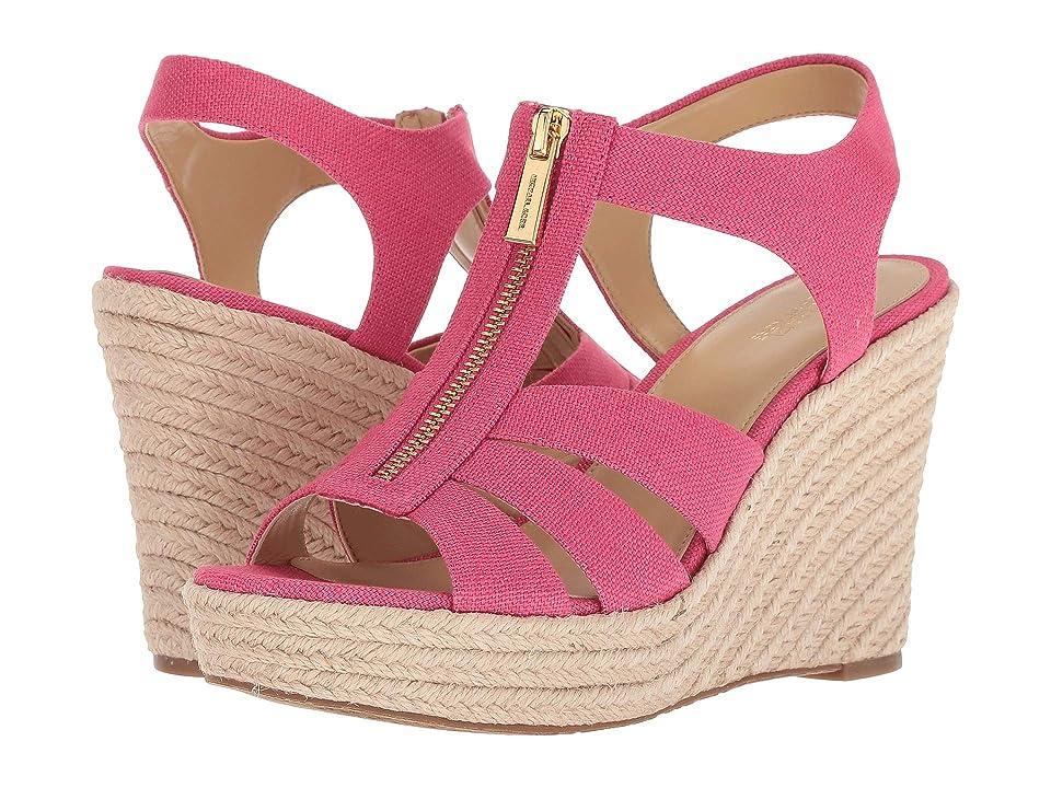 MICHAEL Michael Kors Berkley Wedge (Ultra Pink) Women