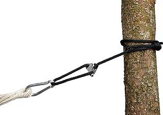 AMAZONAS Smartrope svart vattentät justerbar upphängning för hängmattor och hängstol 320 cm till 150 kg per rep svart