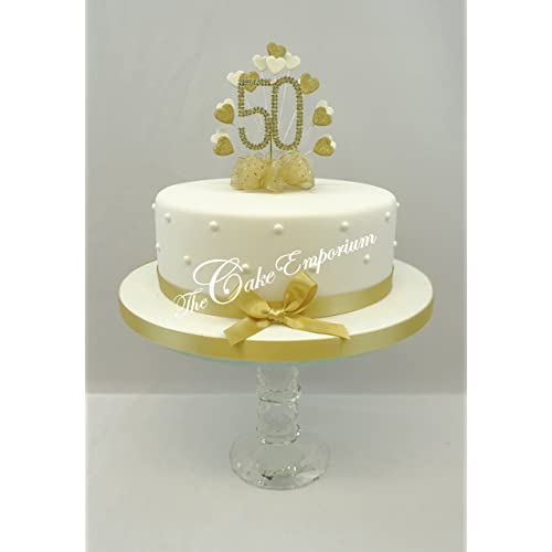 Pictures Of 50th Anniversary Cakes