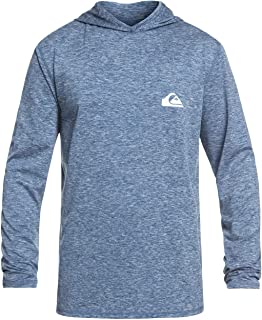Quiksilver Men's Dredge Hooded Rashguard UPF 50+ Sun...