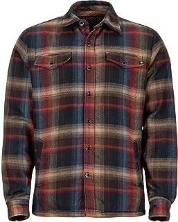 Marmot Men's Ridgefield Long Sleeve Flannel Shirt Black Size Large