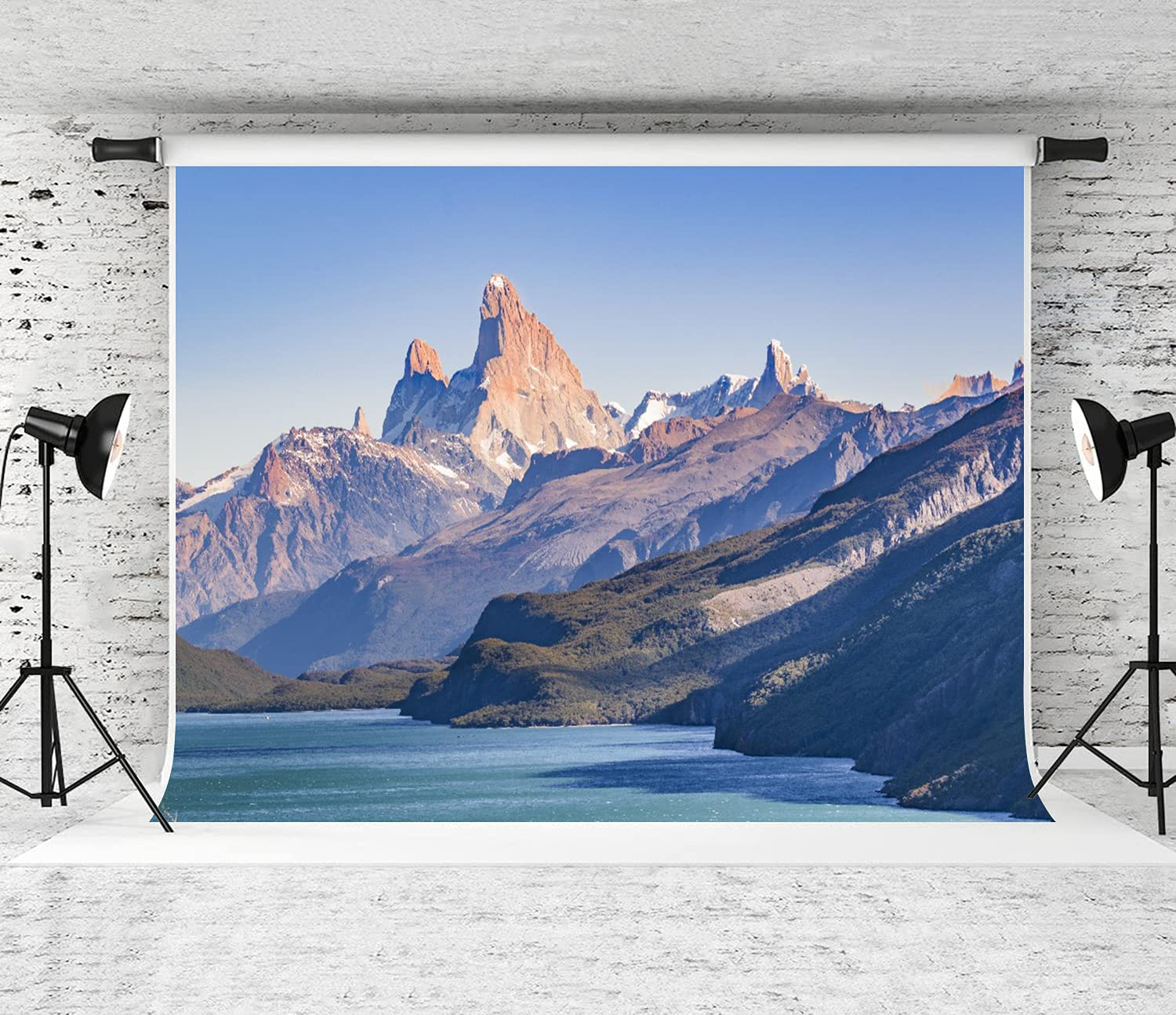 ZOANEN Photography Directly Max 90% OFF managed store Background Argentinian Landscape S Patagonian