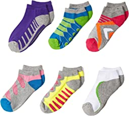 Jefferies Socks Tech Sport Low Cut 6-Pack (Toddler/Little Kid/Big Kid)