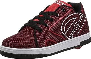 Heelys Kids' Propel Knit Sneaker Red/Black/Knit 13 Medium US Big Kid