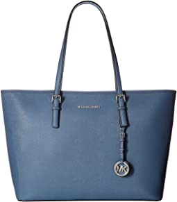 MICHAEL Michael Kors - Jet Set Travel Medium Top-Zip Multifunction Tote