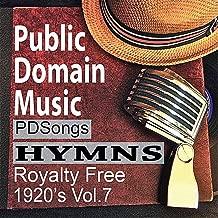 Thomas Edison Records Hymns Public Domain Music 1920s License Free Royalty Free Songs Vol.7