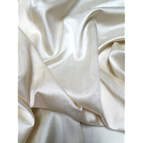 80e700bfa Harmony Home Faux Silk Curtain and Bridal Fashion Fabric Available in 150cm  and 300cm Width SOLD