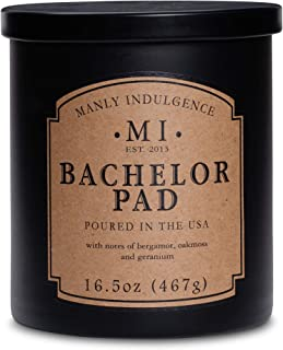 Manly Indulgence Bachelor Pad Scented Candle 5 oz