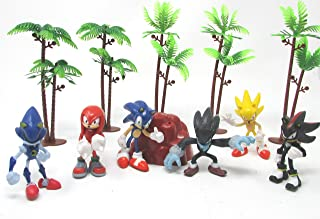 Sonic Party Favor Birthday Celebration Set Featuring Sonic and Friends Random Figures and Themed Accessories