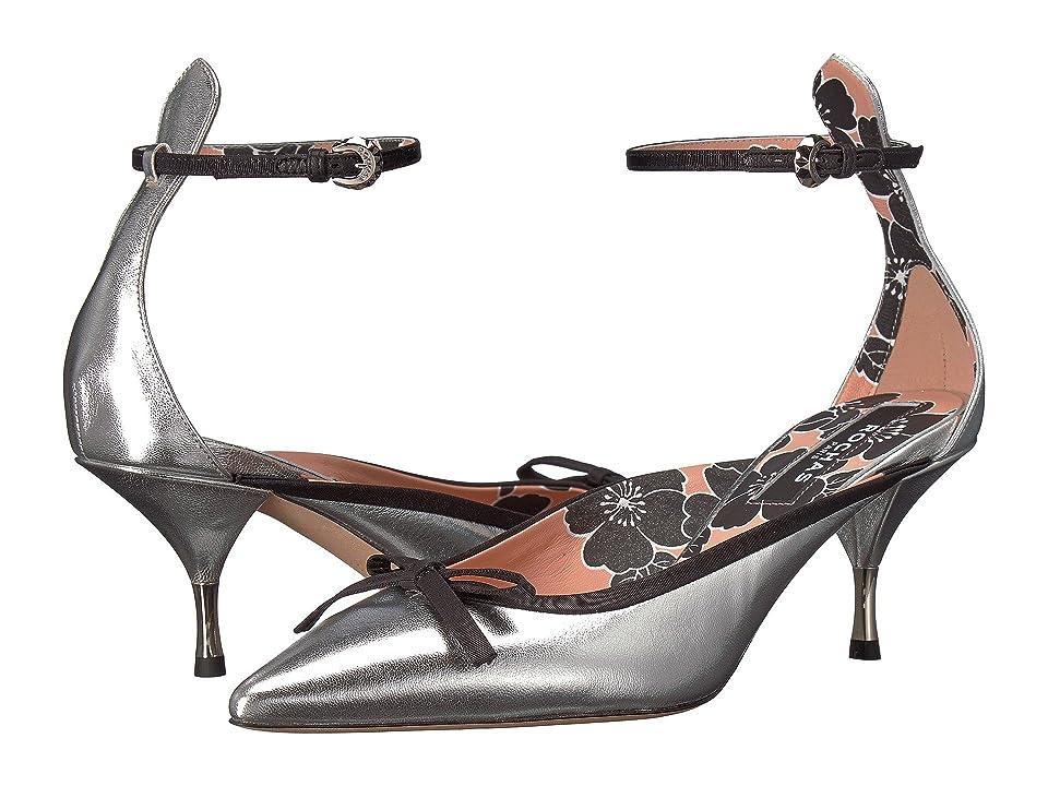 Rochas Mule (Grey) High Heels