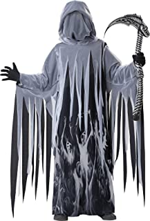 Boy's Ghost of Christmas Soul Taker Grim Reaper Outfit Child Costume