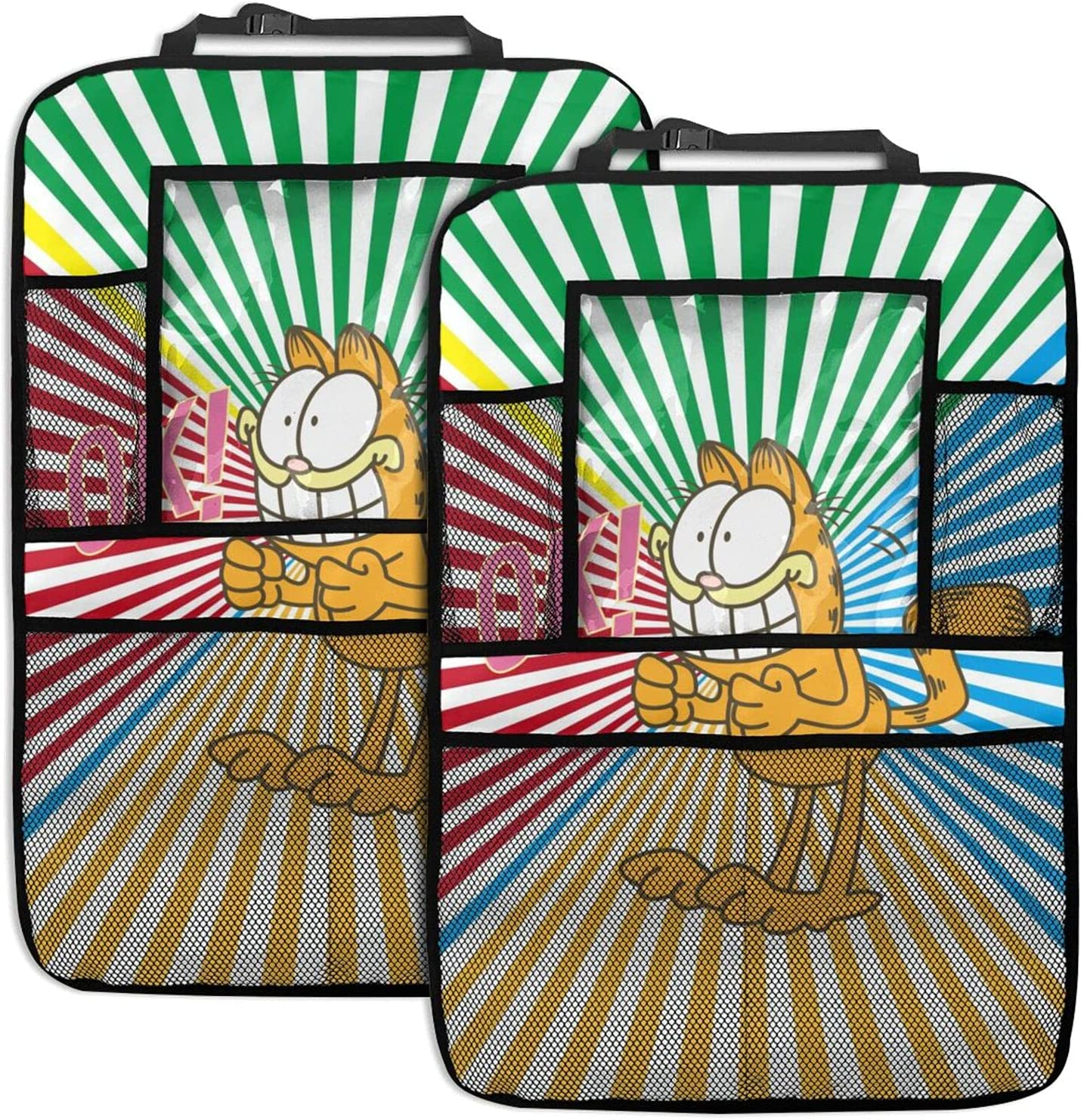 CiciShuo Garfield Outlet SALE 2 Pack Car Foldable It is very popular Backseat Organizer Sea
