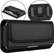 ykooe Rugged Nylon Holster for Samsung Galaxy S20, Horizontal Carrying Phone Pouch Belt Holder Case for Samsung Galaxy S20 Plus, Ultra, Note 10 Plus, A51,A71, A70, S10 Lite, UMIDIGI