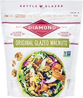 Sponsored Ad - Diamond of California Original Glazed Walnuts + Nut Toppings, 7.5 Ounce (Pack of 12)