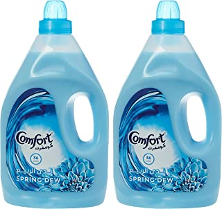 Comfort Fabric Softener Spring Dew, 4L (Pack of 2)