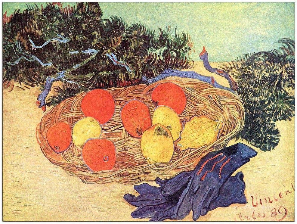 Max 54% OFF ArtPlaza Van Gogh Vincent - Award-winning store Still lemons oranges with and life