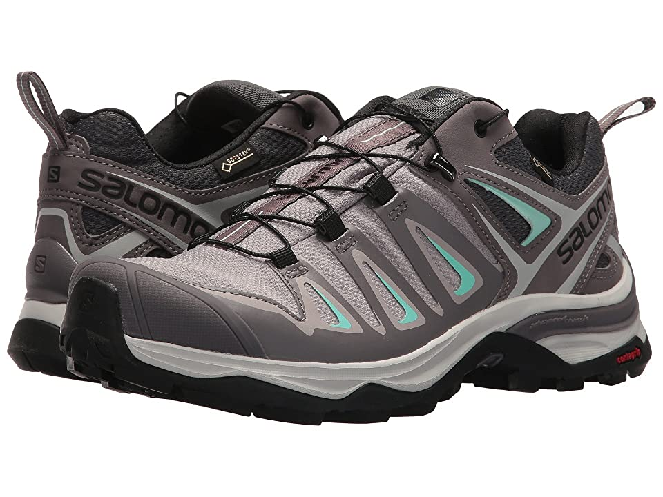 Salomon X Ultra 3 GTX(r) (Magnet/Shark/Beach Glass) Women