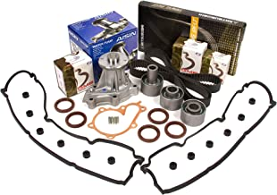 Evergreen TBK180MVCA Fits 90-96 Nissan 300ZX Non & Turbo Timing Belt Kit Valve Cover Gasket AISIN Water Pump