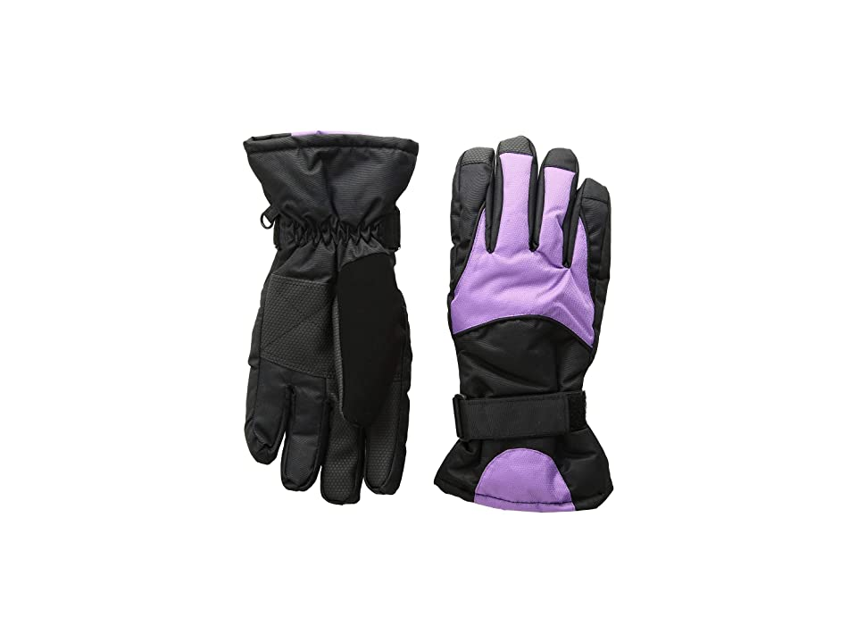 Tundra Boots Kids Nylon Gloves (Purple) Extreme Cold Weather Gloves