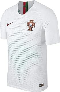 Nike 2018-2019 Portugal Away Vapor Match Football Soccer T-Shirt Jersey