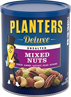Planters Unsalted Mixed Nuts (15.25 oz)