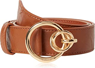 Pinko Anthea Colorful Belt Pitone AN Cintura, L58_Cognac, L Donna